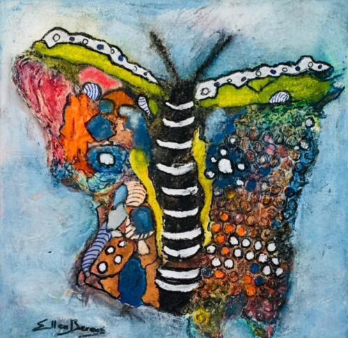 Blauwe-vlinder