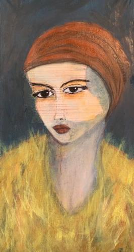portret hoofddoek